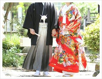 湯泉神社で挙げる結婚式